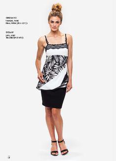 Kollontai/Kollontaï wear : CHICAGO ! Summer dresses and outfits - Desginers québécois - Quebec designer - Tunique - Black and White