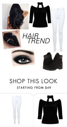"""""""Untitled #15"""" by vampiregirl0825 ❤ liked on Polyvore featuring beauty, Miss Selfridge, Timberland, TIGI, Max Factor, hairtrend and rainbowhair"""