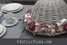 Decoración con arreglos florales.  Tips para decorar con flores.