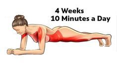 Transform Your Body in Just 4 Weeks With These Five Simple Exercises – FITNESS