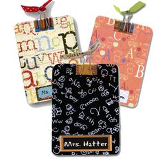 Teacher+Gift+Mini+Clipboard+Personalized+by+FancyFramesBoutique,+$7.99