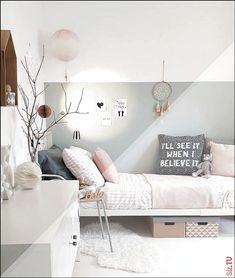 Push teen girl bedrooms charming project idea number 4588432426 now. … - bedroom furniture for teens Scandi Bedroom, Shabby Chic Bedrooms, Bedroom Decor, Sage Bedroom, Teen Girl Bedrooms, Tiny Girls Bedroom, Girl Room, Baby Room, Room Inspiration