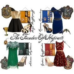Harry Potter inspired fashion. I've always been a fan of Ravenclaw :)