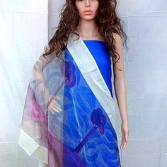 Impressionist Design on Dupatta