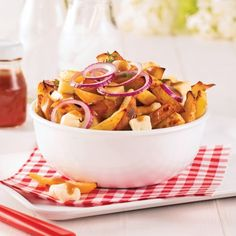 Poutine santé aux pommes de terre et rutabaga - Recettes - Cuisine et nutrition - Pratico Pratique