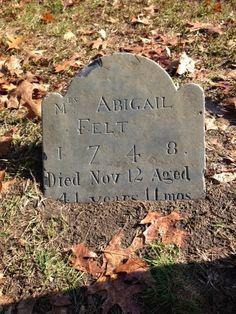 Old Burying Point, Salem