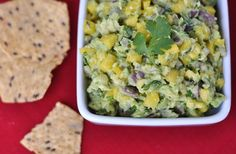 Mango Guacamole by Savor the Thyme