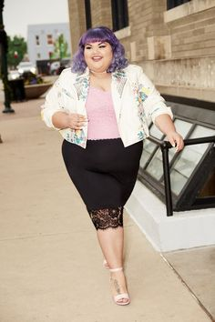 7b0966fd47e We Are Loving Ashley Nell Tipton s Plus Size Spring Collection For JCPenney  Fat Fashion