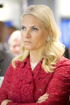 Crown Princess Mette-Marit of Norway on  day two of their five day official visit to the USA