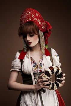 Inspiration pour costume russe
