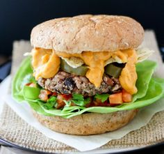 Mexican Nacho Burger | The Perfect Meatless Monday Recipe Your Family Will Enjoy