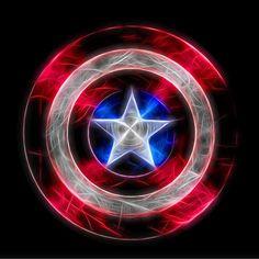 Marvel Comic Universe, Marvel Art, Marvel Dc Comics, Marvel Heroes, Marvel Avengers, Captain America Tattoo, Captain America Shield, Neon Light, Captain America Wallpaper