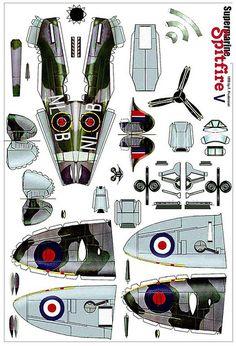Supermarine Spitfire V | by amphalon