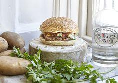 Big Fernand restaurant spécialiste de hamburger vous livre à domicile vos repas pendant l'euro de foot et toute l'année