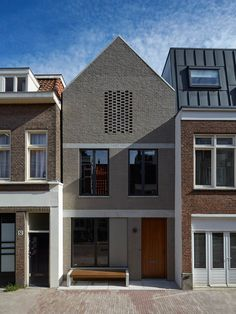 A new-build house within the centre of Amsterdam