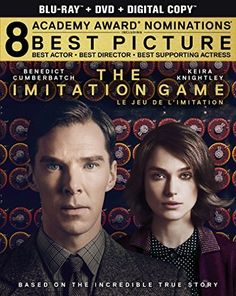 The Imitation Game. If you haven't seen this movie, you've missed out. Incredibly well done.