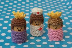 Klaartje Nel Cork Crafts, Diy Crafts, Crochet Dolls, Knit Crochet, Pinterest Crafts, Hand Puppets, New Dolls, Crochet Animals, Craft Projects