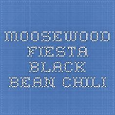 Moosewood Fiesta Black Bean Chili