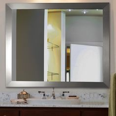 Found it at Wayfair - Ava Modern Wall Mirror $204 x2