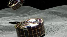 For the First Time Ever: Japan Has Landed Two Rovers on an Asteroid Our Solar System, Astrophysics, Space Travel, Astronomy, Japan, Image, Stars, Japanese Dishes