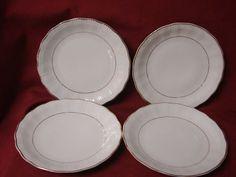 Walbrzych / Southington China Dinnerware Empire Set 4 salad plate