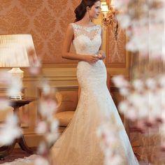2016 Cheap Lace Mermaid Wedding Dress Country Western Wedding Dresses Vestido de Casamento Bride Dress Vestido de Novia Sirena
