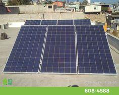 7 paneles solares de 320W