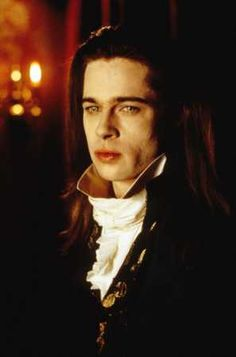 """Goth:  The #Undead ~ Brad Pitt as the #vampire Louis, in """"Interview with a Vampire."""""""