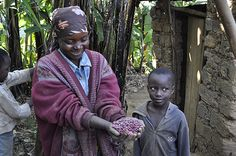 Woman farmer with seeds by ONE.org, via Flickr