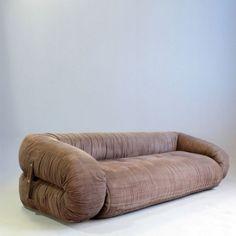 Located using retrostart.com > Anfibio Sofa by Alessandro Becchi for Giovanetti
