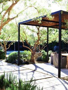 Tour A Stone Space That's Anything But Cold// landscape architecture, landscape design
