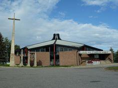 Normandin (église Saint-Cyrille), Québec, Canada (48.837748, -72.527179)