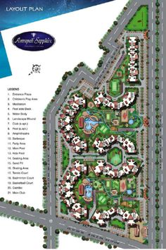 Amrapali Sapphire - 2/3/4 BHK Apartments in Noida Sec-45