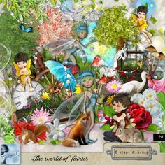 The world of fairies Kit (PU) by Louise L