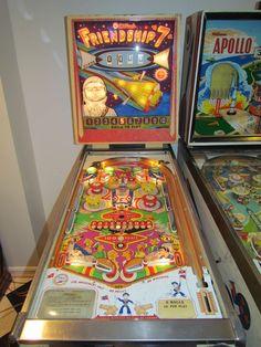"""1962 Friendship 7 """"Williams""""Pinball Machine"""