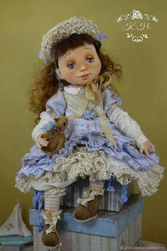 Купить Полианна . Кукла авторская - куклы, коллекционная кукла, розовый, кукла, шебби-шик