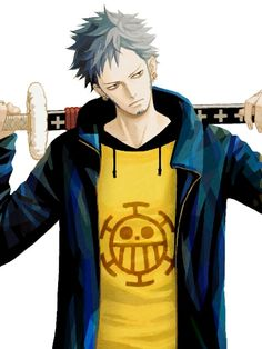 Even a captain has to relax. Trafalgar Law One Piece