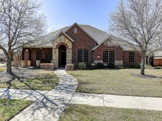 New on the market! For Sale: 1105 Shady Rest Lane, Corinth, Texas 76208 Fantastic custom one story 4 bedroom 3 bath home located in the highly sought after Oaks of Corinth! This stunning home boasts high ceilings, crown molding, decorative archways, hand scraped wood floors, and tray ceiling in master bedroom. Front and back covered patios with large backyard and 16 foot wide custom gate for RV or trailer. Click photo to see further features and video tour.