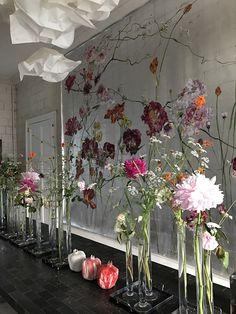 home decor modern Botanical Line Drawing, Rustic Room, Inspiration Wall, Halloween Party Decor, Bohemian Decor, Fresco, Decoration, Modern Decor, Flower Art
