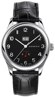 Genesis: German Men's Watches By A Woman Feature Articles
