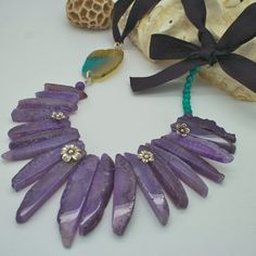 Wild Flower Necklace by 1000roads on Etsy, $85.00