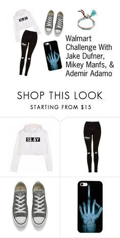 """""""Walmart"""" by kaykaygonzales on Polyvore featuring Topshop, Converse and Billabong"""