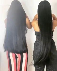 Black Hair Video, Long Hair Video, Hair Growing Tips, Grow Hair, Beautiful Long Hair, Gorgeous Hair, Girl Hair Colors, Blazer Pattern, Really Long Hair