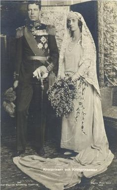Wedding of Gustav Adolf and Louise of Battenburg, Crown Prince and Princess of Sweden