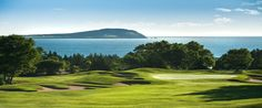 Cape Breton Highlands, Ingonish, NS - My favourite course I have ever played in Canada. It's breathtaking. Cape Breton, Nova Scotia, Golf Tips, East Coast, Golf Courses, Places To Visit, Canada, Island, Vacation