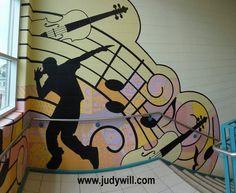 Hawthorne Village Public School Mural