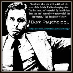 Dark Psychology is the study of the human condition as it relates to the psychological nature of people to prey upon other people motivated by criminal and/or deviant drives that lack purpose and general assumptions of instinctual drives and social sciences theory. All of humanity has the potentiality to victimize humans and other living creatures. While many restrain or sublimate this tendency, some act upon these impulses.