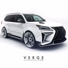 Cars Discover Lexus body kit VERGE soon will begin selling Cars Vintage, Montero Sport, Lexus Lx570, Buick Envision, Audi Allroad, Best Suv, Top Luxury Cars, Suv Cars, Amazing Cars