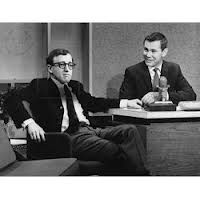 Johnny Carson with Woody Allen