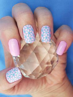 Cube nail art stencils - incredible nail art vinyls by Unail